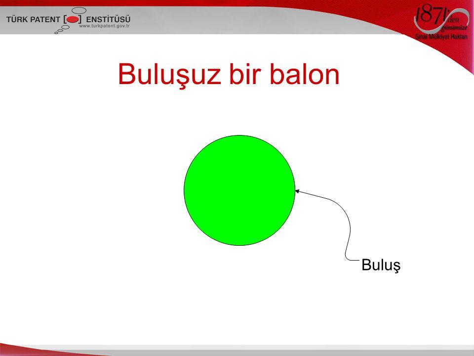 Buluşuz bir balon Buluş Bu slaytta buluşunuz bu balonun içi olsun,
