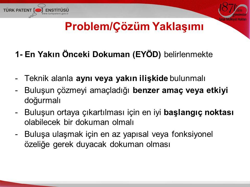 Problem/Çözüm Yaklaşımı