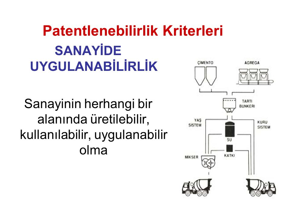 Patentlenebilirlik Kriterleri