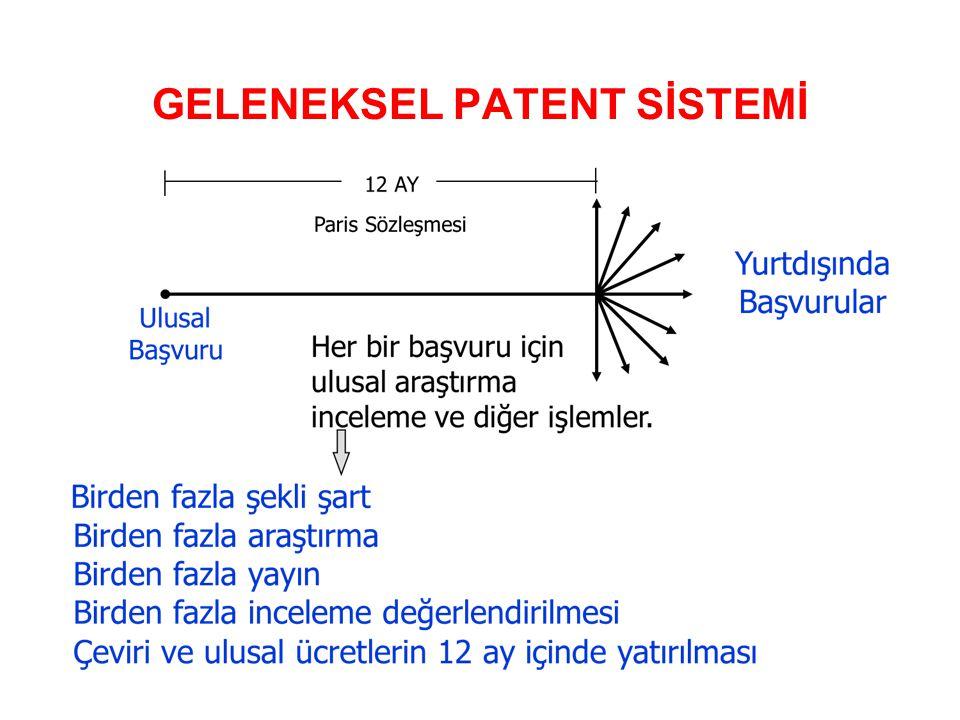 GELENEKSEL PATENT SİSTEMİ
