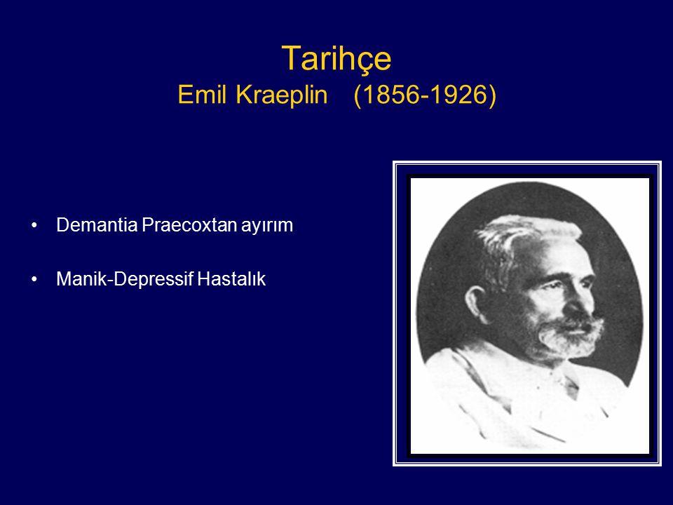 Tarihçe Emil Kraeplin (1856-1926)