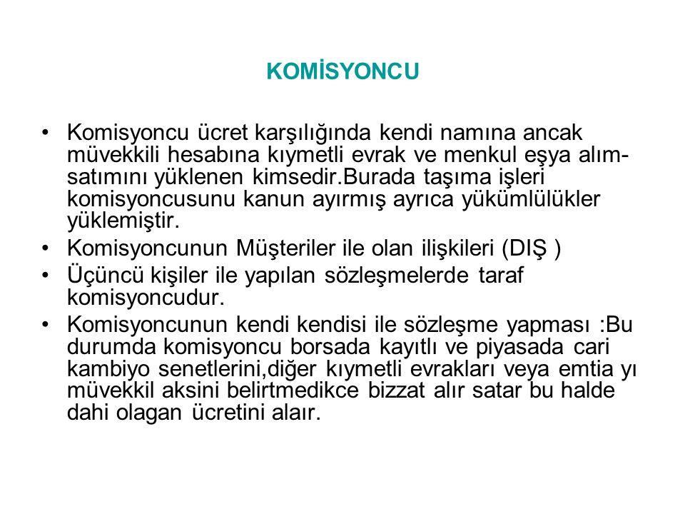 KOMİSYONCU