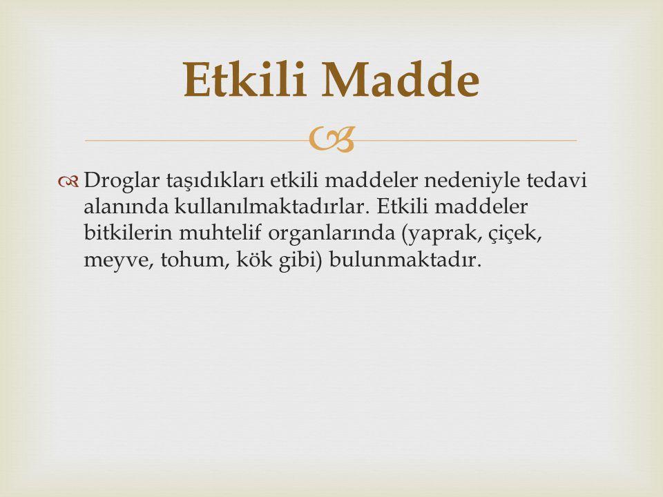 Etkili Madde