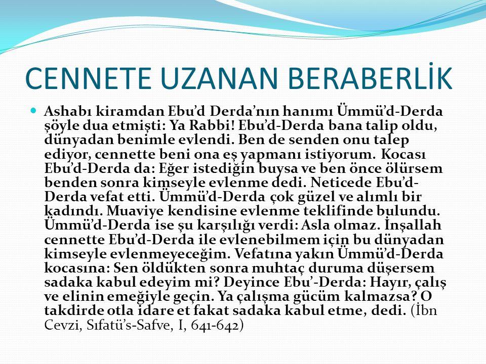 CENNETE UZANAN BERABERLİK
