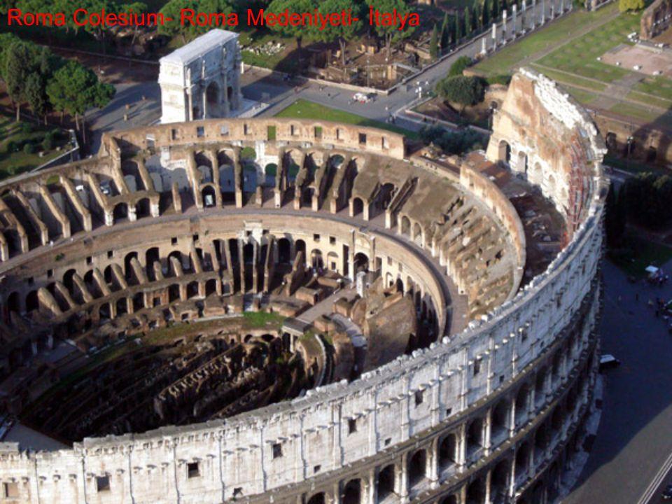 Roma Colesium- Roma Medeniyeti- İtalya