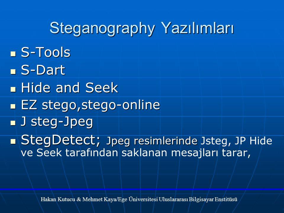Steganography Yazılımları