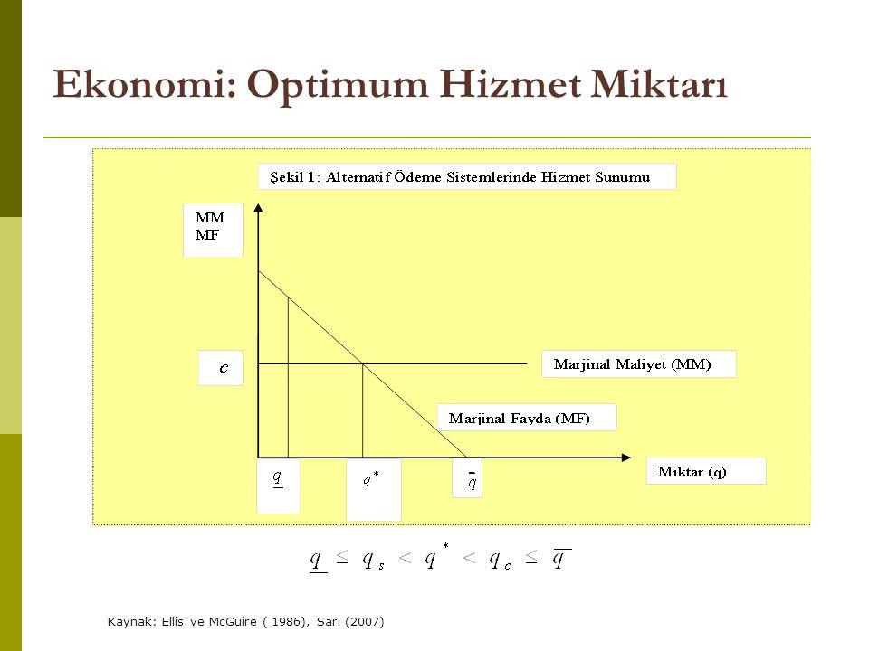 Ekonomi: Optimum Hizmet Miktarı