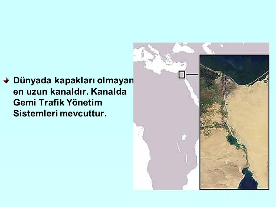 Dünyada kapakları olmayan en uzun kanaldır