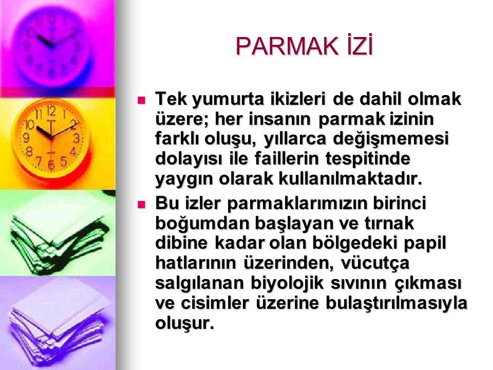 PARMAK İZİ