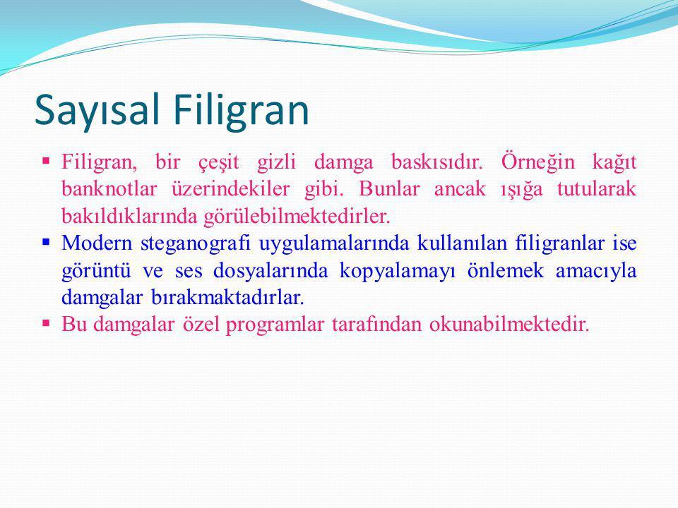 Sayısal Filigran