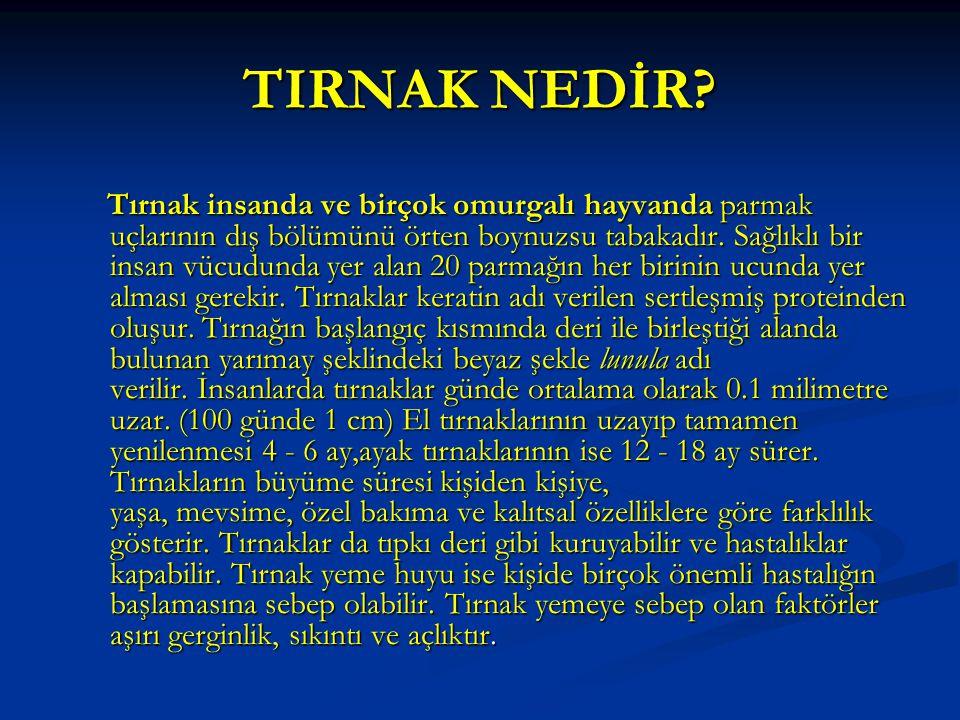 TIRNAK NEDİR