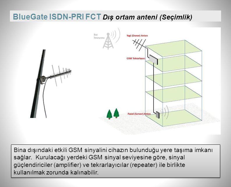BlueGate ISDN-PRI FCT Dış ortam anteni (Seçimlik)