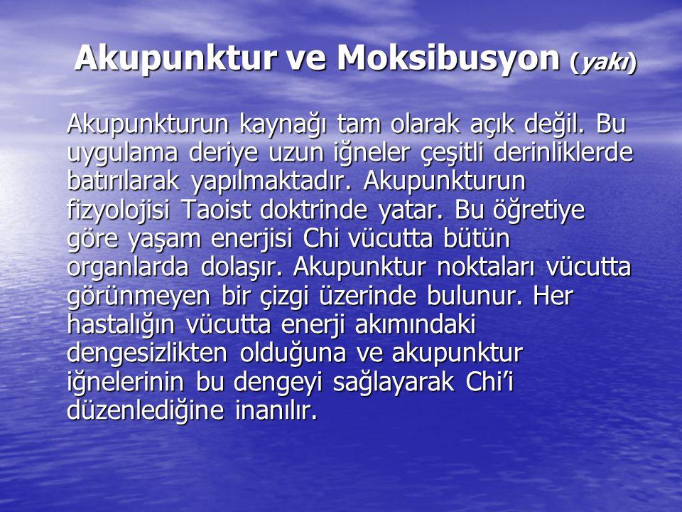 Akupunktur ve Moksibusyon (yakı)