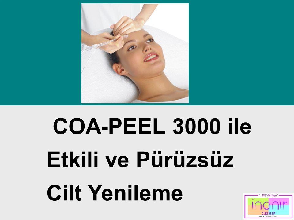 COA-PEEL 3000 ile Etkili ve Pürüzsüz Cilt Yenileme Contents