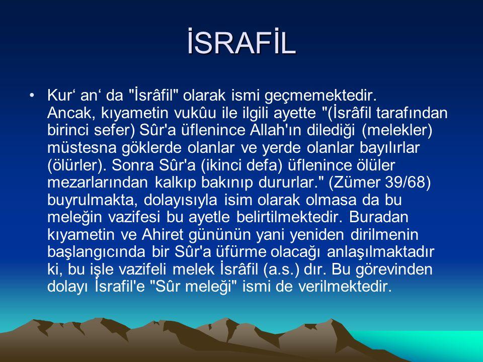 İSRAFİL