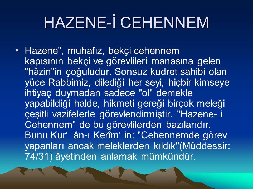HAZENE-İ CEHENNEM