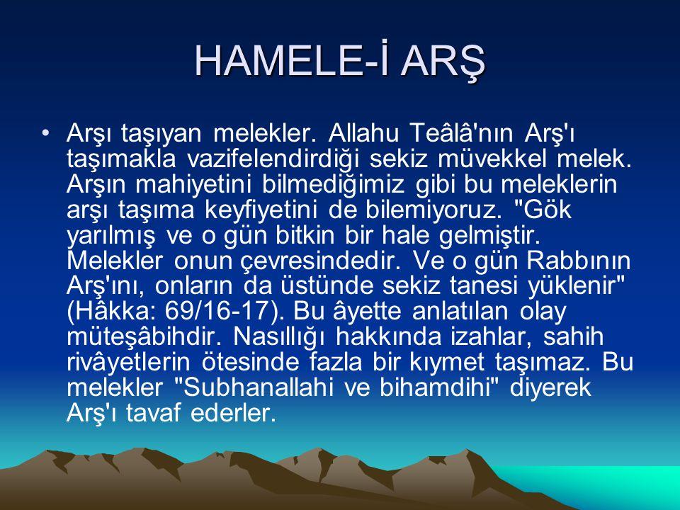HAMELE-İ ARŞ
