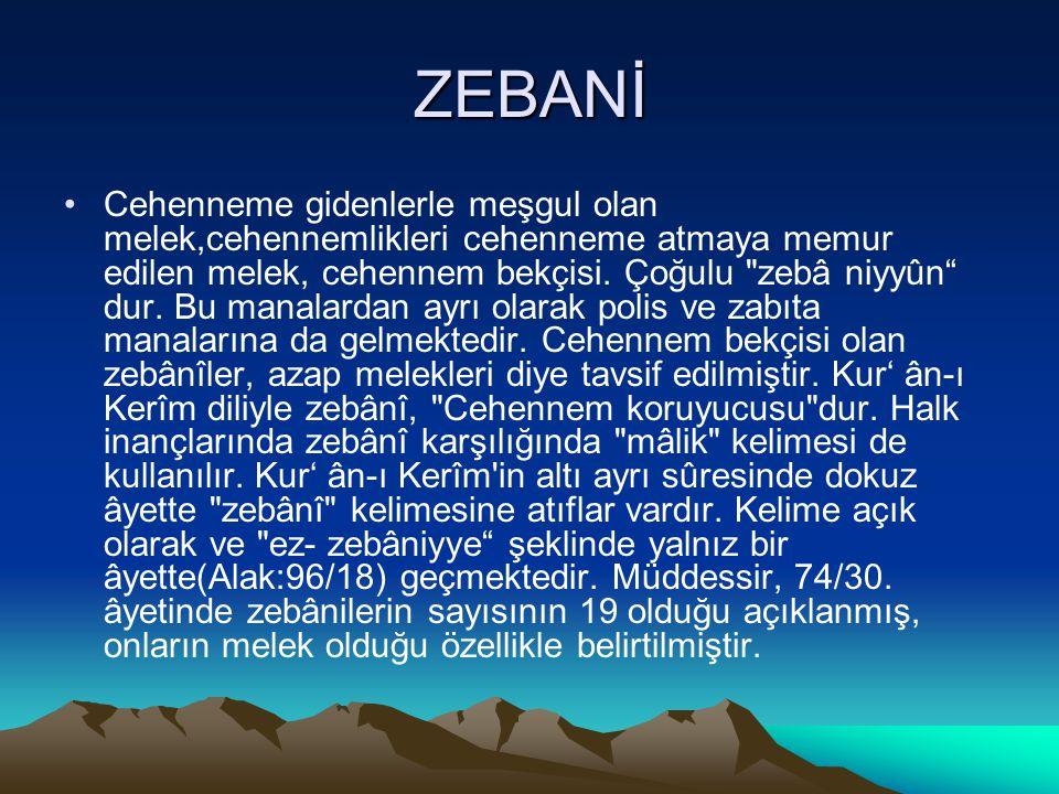 ZEBANİ