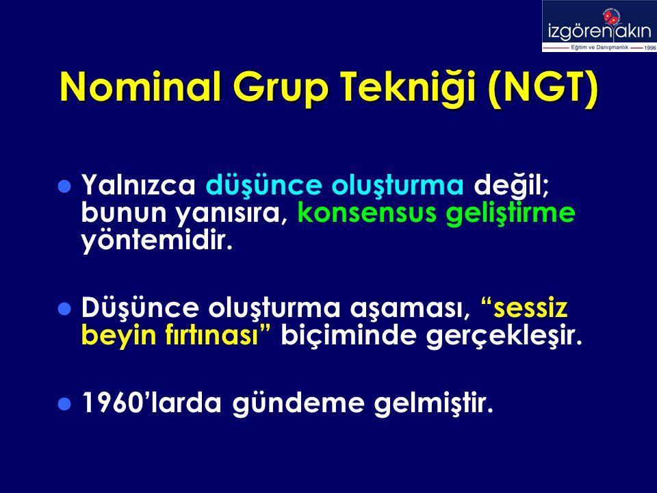 Nominal Grup Tekniği (NGT)