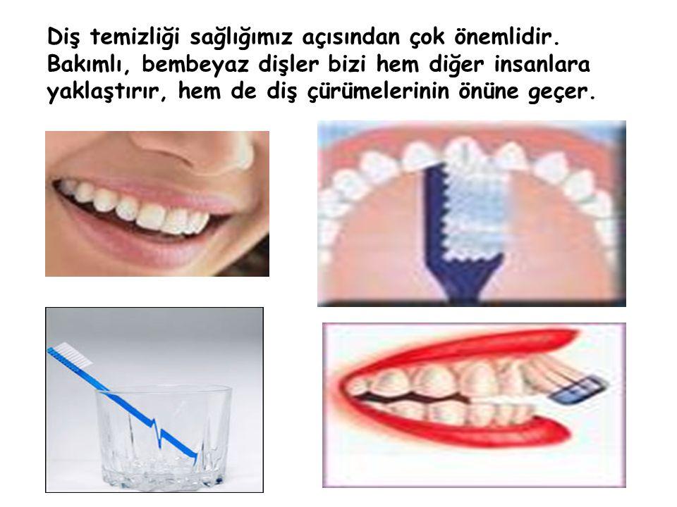 Diş temizliği sağlığımız açısından çok önemlidir