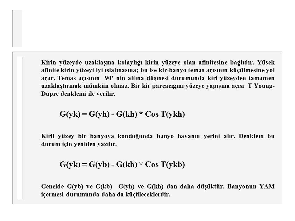 G(yk) = G(yh) - G(kh) * Cos T(ykh)