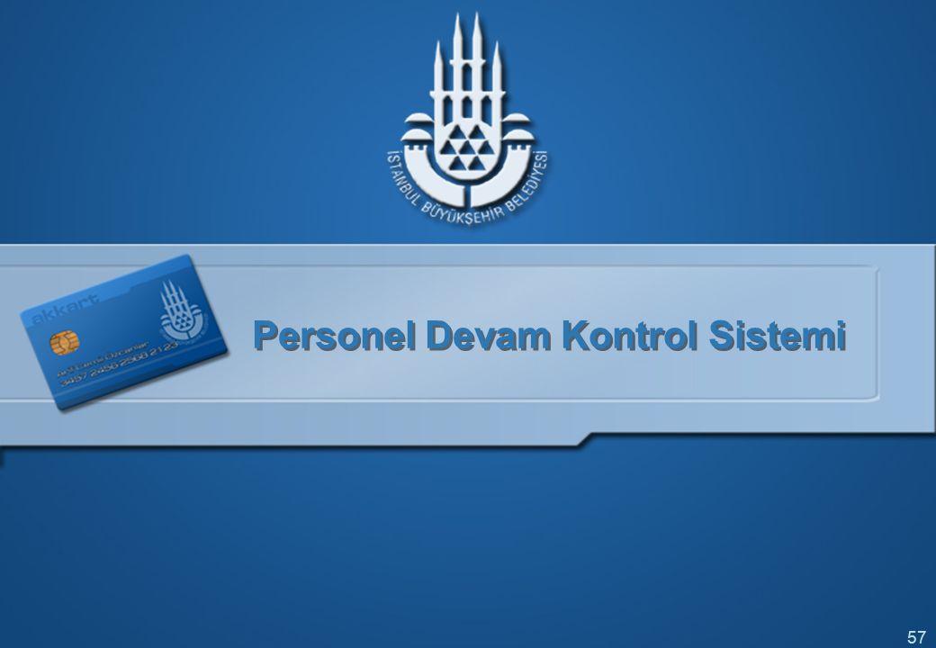 Personel Devam Kontrol Sistemi