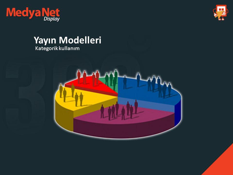 Yayın Modelleri Kategorik kullanım