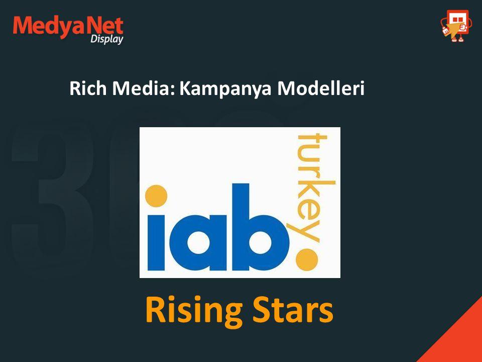 Rich Media: Kampanya Modelleri