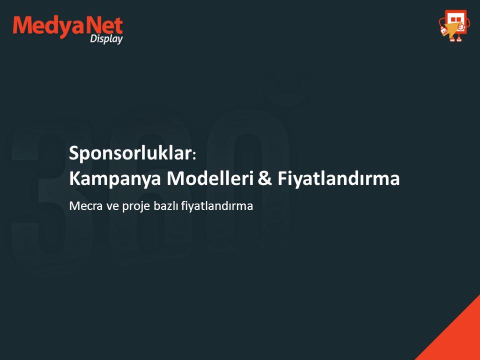 Sponsorluklar: Kampanya Modelleri & Fiyatlandırma