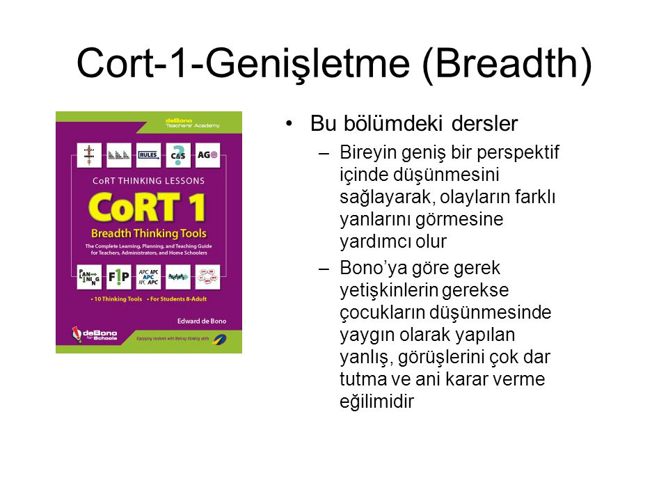 Cort-1-Genişletme (Breadth)
