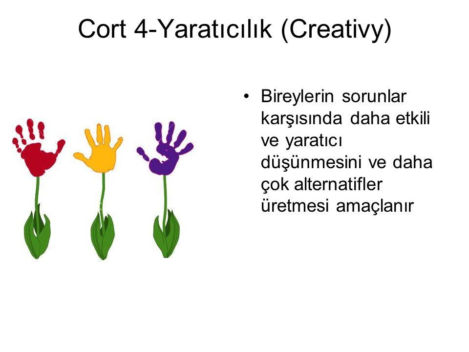 Cort 4-Yaratıcılık (Creativy)