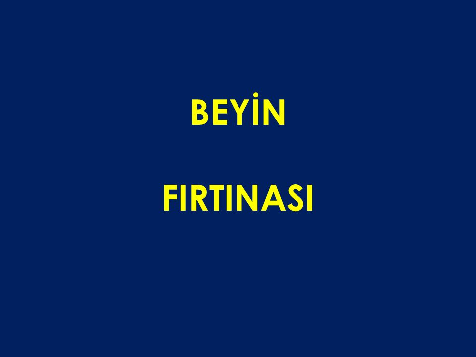 BEYİN FIRTINASI 54