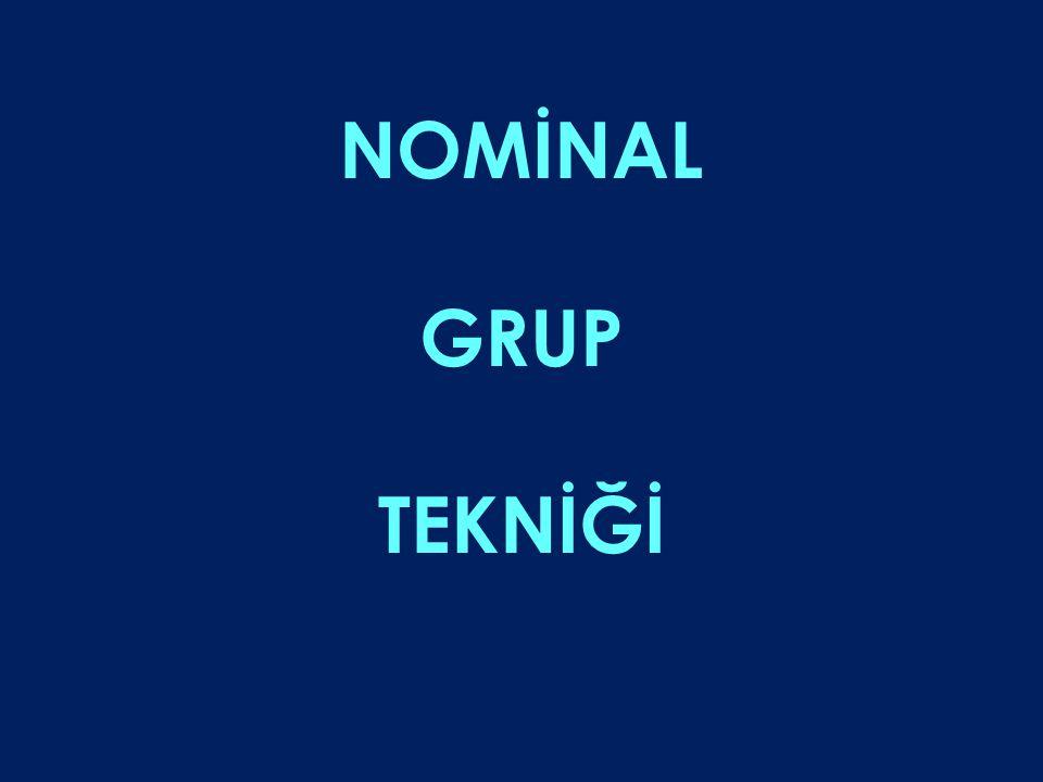 NOMİNAL GRUP TEKNİĞİ 64