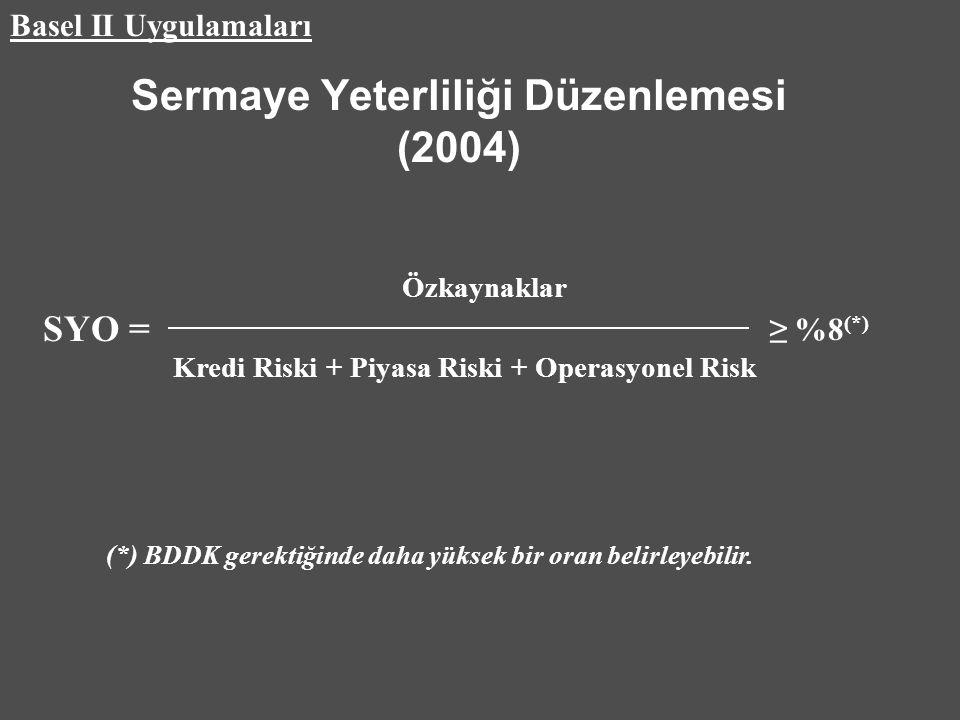 Sermaye Yeterliliği Düzenlemesi (2004)