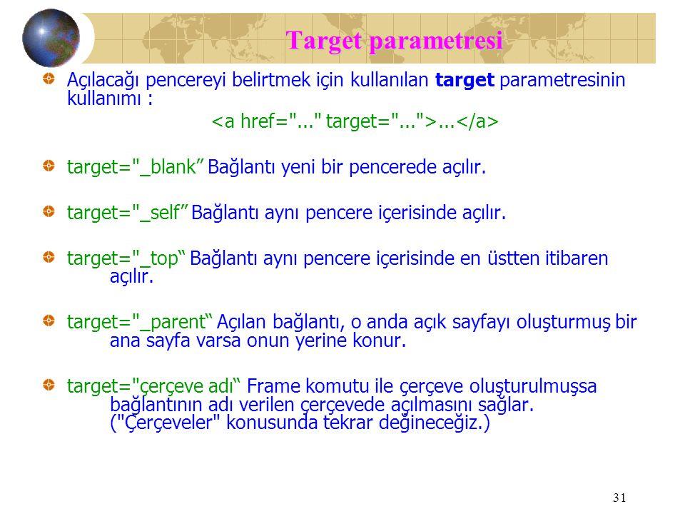<a href= ... target= ... >...</a>