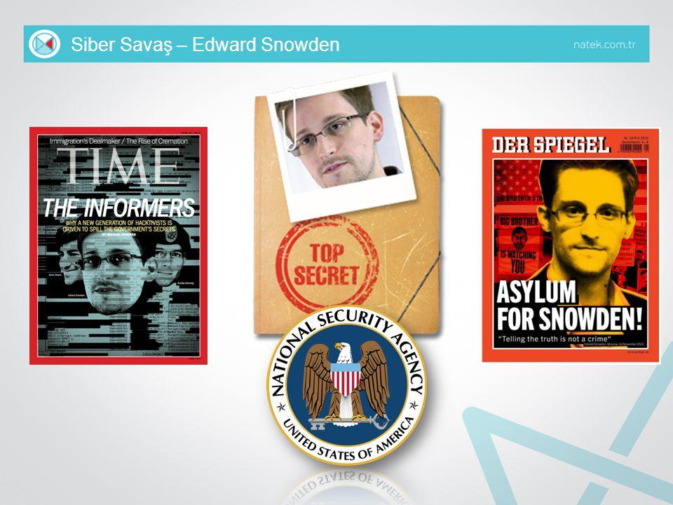 Siber Savaş – Edward Snowden