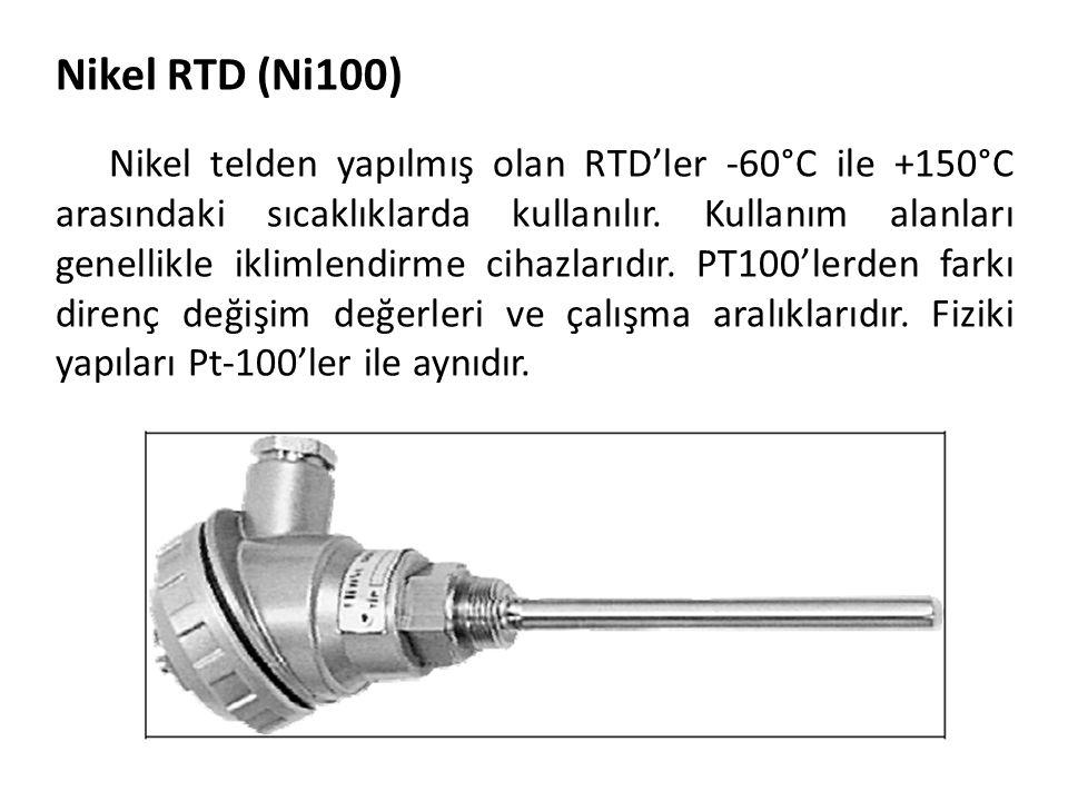 Nikel RTD (Ni100)