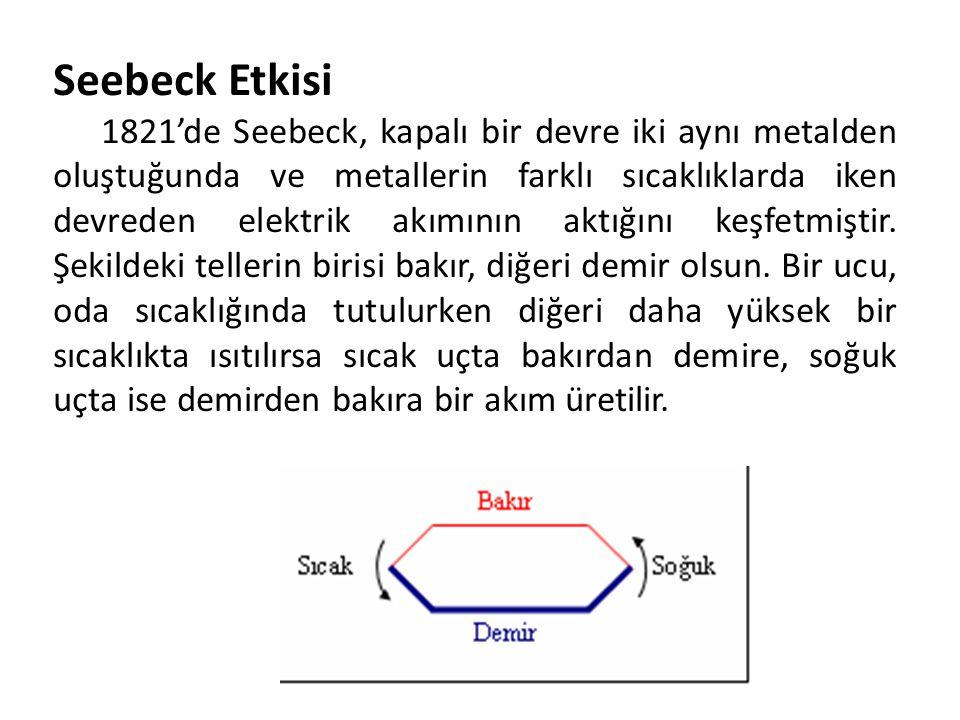 Seebeck Etkisi