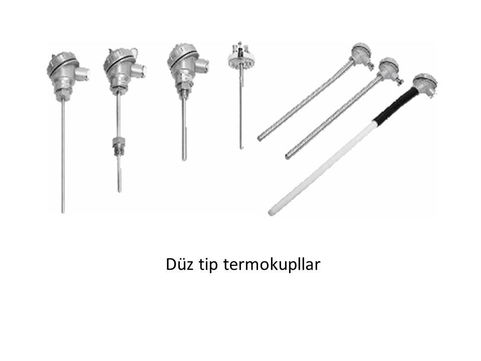 Düz tip termokupllar