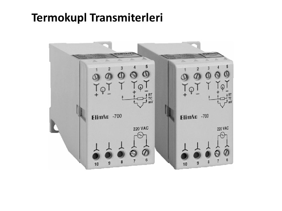 Termokupl Transmiterleri