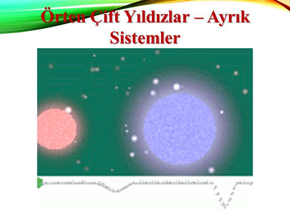 Örten Çift Yıldızlar – Ayrık Sistemler