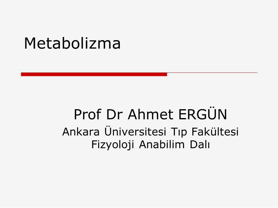Ankara Üniversitesi Tıp Fakültesi Fizyoloji Anabilim Dalı