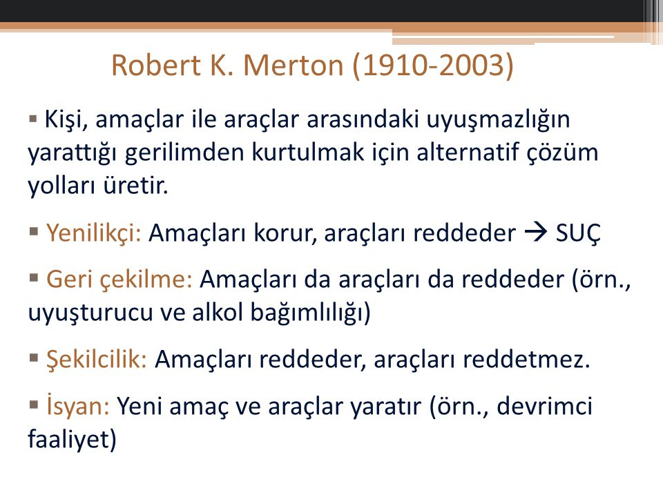 Robert K. Merton (1910-2003)