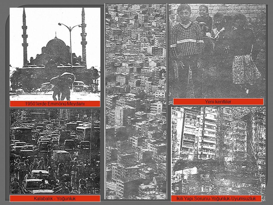 1950'lerde Eminönü Meydanı