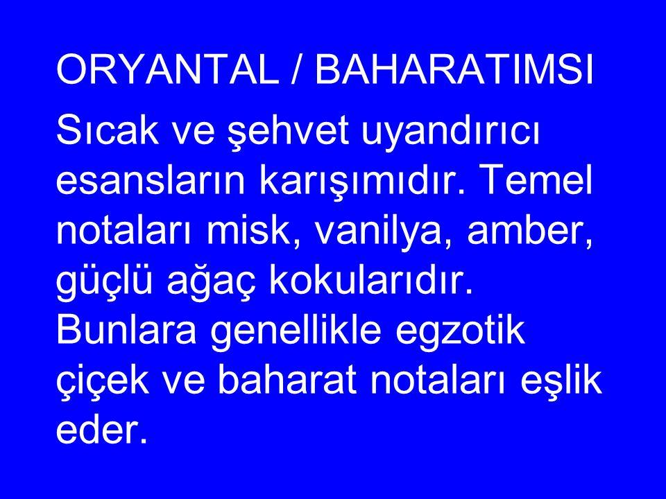 ORYANTAL / BAHARATIMSI