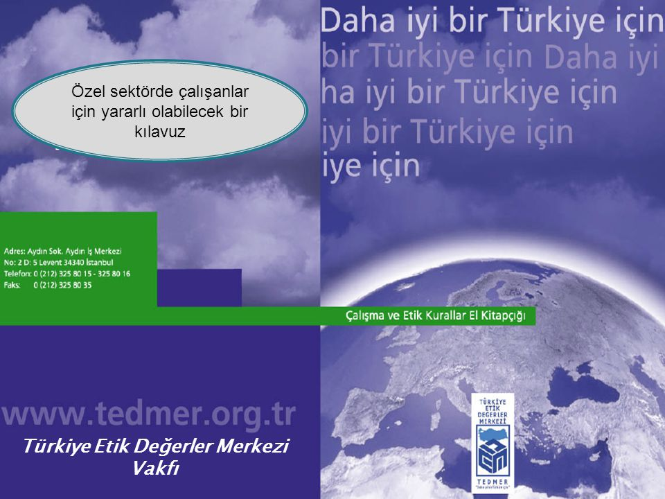 Türkiye Etik Değerler Merkezi Vakfı
