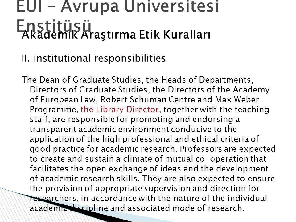 EUI – Avrupa Üniversitesi Enstitüsü