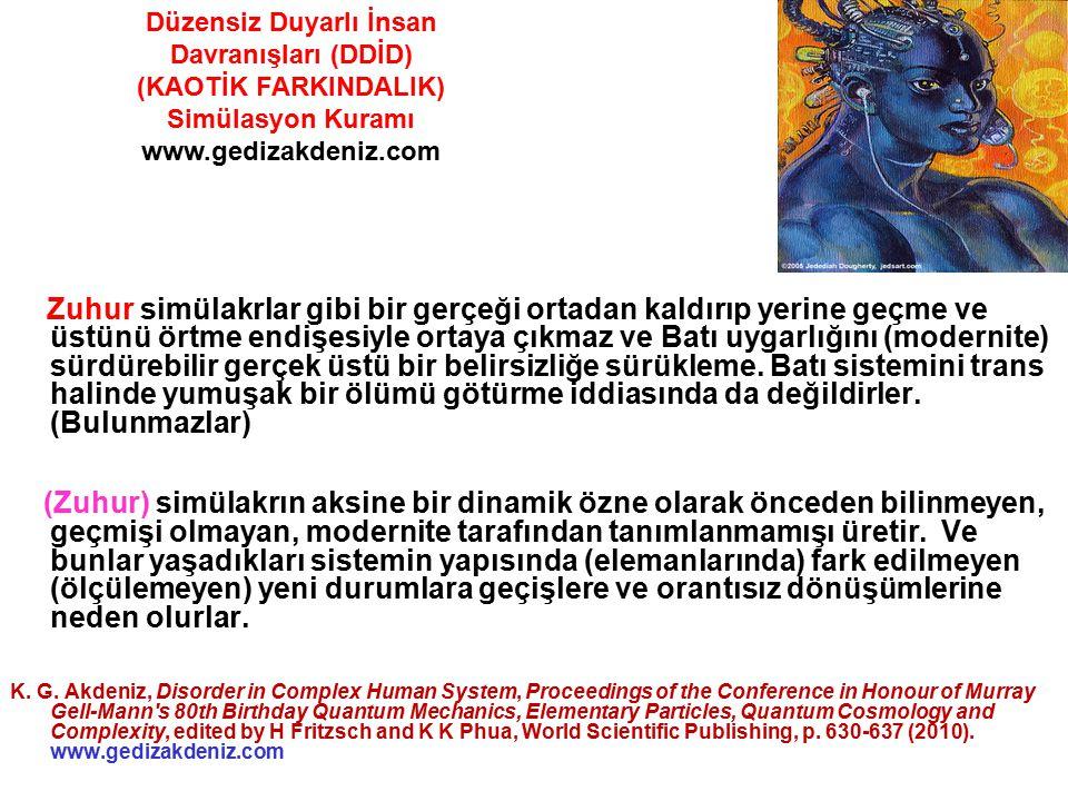Düzensiz Duyarlı İnsan Davranışları (DDİD)