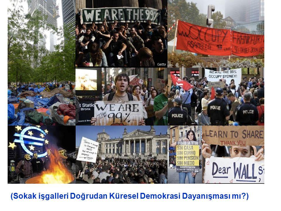 (Sokak işgalleri Doğrudan Küresel Demokrasi Dayanışması mı )