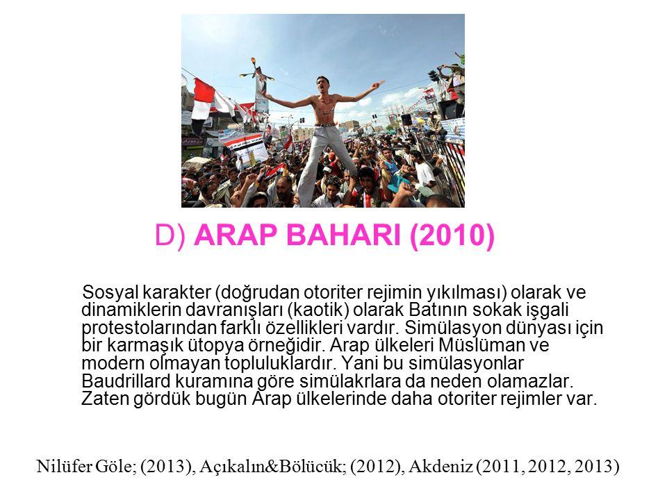 D) ARAP BAHARI (2010)
